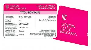 Carnet Familia Monoparental